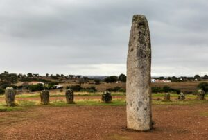 Ebenezers were frequently large rock pillars to mark where a miraculous event had happened.