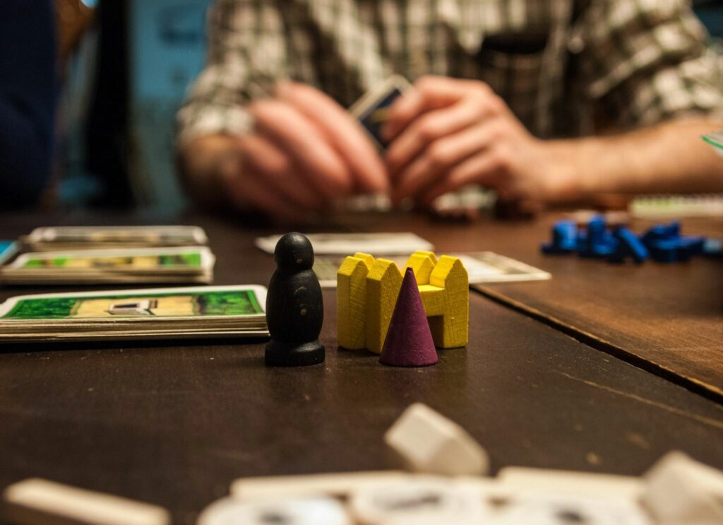 Playing board games or card games with your spouse is a fun way to build your marriage and strengthen your bond.