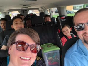 road trip activities for large families