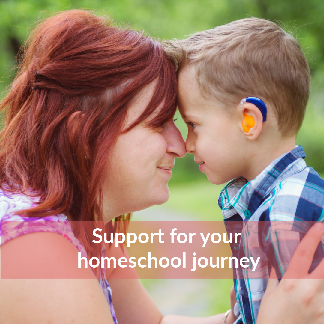 support for special needs homeschooling