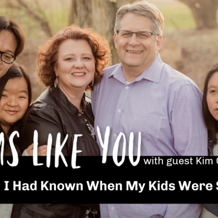 Moms Like You: Kim Cusimano shares her advice on advocacy and homeschooling kids with special needs. Now that she is parenting adults with disabilities, she shares what she wishes she had known when her kids were younger. Flamingo Feathers podcast, special needs homeschooling Episode 13