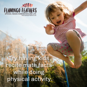 Flamingo Feathers Podcast for special needs homeschooling. Math curriculum and resource ideas for learning disabilities.